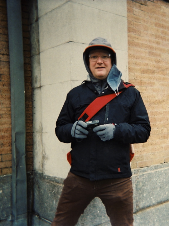 A photograph of David Bivins, a Tempest Member